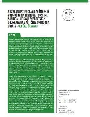 Sjenica_Zaštićena područja