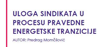 Predrag Momčilović - sindikati