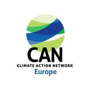 Logo Climate action network Europe